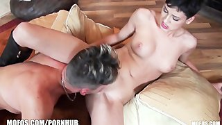 Incredibly hot russian punk girl loves rough-sex