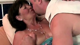 Granny, Pussy, Oral, Hardcore, Blowjob