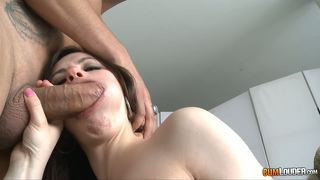 Teenage very naughty swallows all the semen