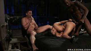 Amazing butt cheeks of sweet slut gets spanked and her cunny gets jizzed