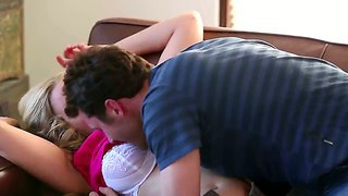 Eager and horny james deen manages to seduce his girlfriend's hot mom julia ann