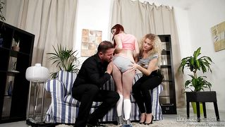 Redhead fucks neighbor's parents @ mom and dad are fucking my friends #13