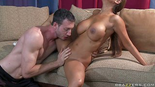 Priya rai asks jordan ash to watch cricket with her at home. but this gorgeous indian woman with huge boobs and smooth pussy is not for watching tv with her. they spend time fucking instead. he bangs her indian pussy and massive tits like crazy.