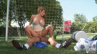 Wicked - big-tit uk soccer mom lia lor fucks her son's coach