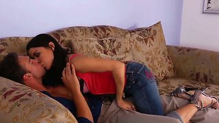 Beautiful slender babe ann marie rios and her new boyfriend rocco reed