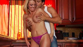 Brenda james is nailed so well by hot dude ramon