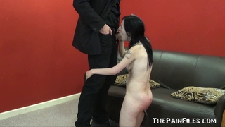 Fayes rough blowjob and hardcore sex domination of smacked