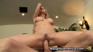 Tarra white gets her ass spanked while being fucked from behind