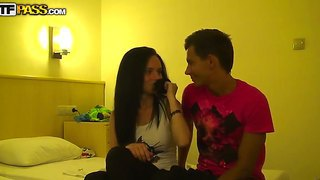 Playful babes relaxing with their friend in turkey and fucking hard in the hotel