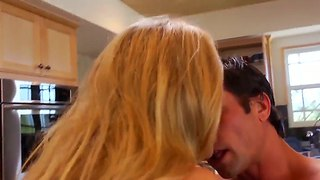 Teen boy alan stafford drills his friend's experienced mom julia ann