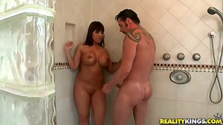 Wet sex with big breasted ava devine