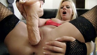 Young sexy girl rides rocco's large cock as hard as she can