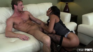The brunette milf enjoys a wild doggy style fuck and doesn't want that to end