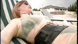 Latex lovin', toe sucking, and the beach