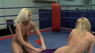 Karina shay knocks down lovely simony diamond