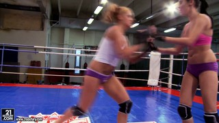Becky stevens and barbie black will fight like a couple of wild cats