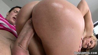 Krissy lynn gets her incredible ass fucked and coated in jizz