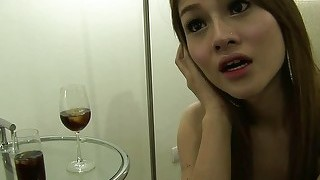 Thai ladyboy and bareback anal sex