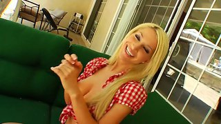 Blonde babe chastity lynn and arousing sammie rhodes are horny and eager for some lesbian fun