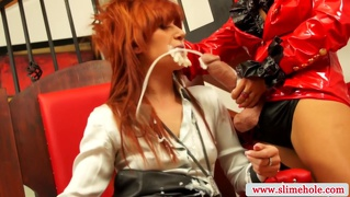 Female Domination, Oral, Cumshot, Lesbisch, Lesbisch
