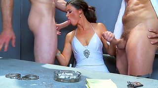 India summer,jordan ash and ramon are having intense pleasure in hot threesome
