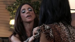Busty milfs ariella and breanna fuck with lucky charles