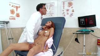 Perfect bodied sex addict monique alexander at doctor's office