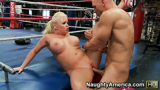 Angel vain with big melons and clean twat gets her hole pumped full of cock in hardcore sex action with johnny sins