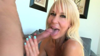 Blonde cougar babe erica lauren getting slammed hard and deep