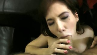 Rocco gets pov head from a redheaded slut