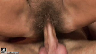Orhidea gets the hole between her legs fucked by hard cock