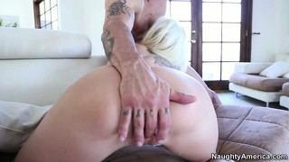 Eden sucks that cock like only she knows how and welcomes it deep in her cunt