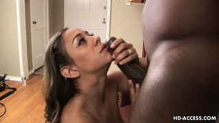Watch estelle leon shake her massive moneymaker on a big black dick