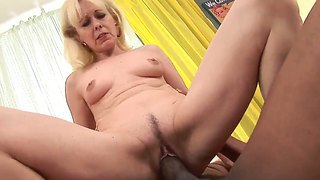 Lola, Blonde, Matanda, Interracial, Suso