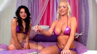 Molly cavalli eats some exotic box on cam