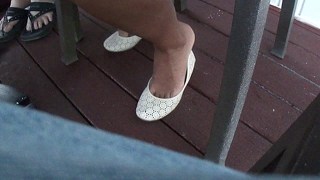 Foot show of 26 year old girl