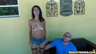 Feisty latina mia gets pounded