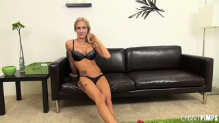 Zoey portland is a marvelous blonde with long sexy legs, big round tits and a hot ass