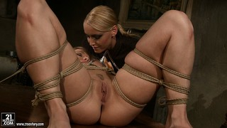 Arrogant pussy stretching slut kathia knows what she wants from her proteges
