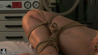 Vaginal cavities of horny babes should be inspected by the nasty nurses