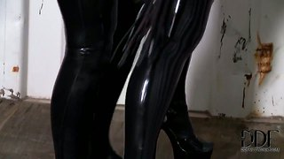Dildo, Latex, Malinis, Malinis, British