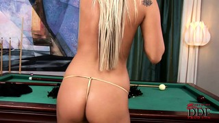 Czech, Lawa, Tattoo, Panty, Blonde