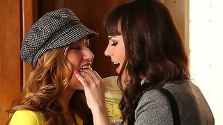 Crazy babies dana dearmond victoria rae black love to kiss each other