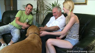 Ginger's husband left her alone with her father-in-law, he gets handsy
