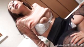 Nippon lady fucked and creamed like a whore