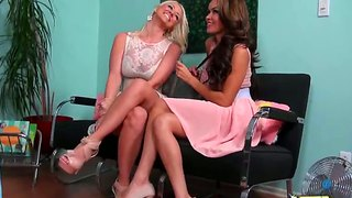 Daisy marie and molly cavalli in lex action
