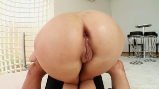 Liz is ready for a session of rude anal slamming from a huge cock