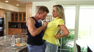 Exotic brandi love needs nothing but bill bailey's hard sausage in her vagina to be satisfied