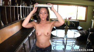 Kiera king is a gorgeous brunette with striking blue eyes and a passion for black dick