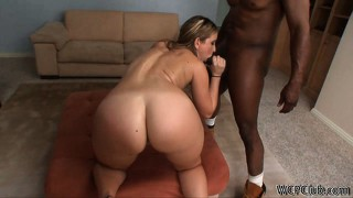 Interracial, Blowjob, Pussy, Blond, Babe